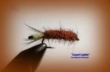 Нимфа отгруженная Cassed Caddis Brown 011