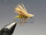 Сухие мушки Elk Hair Caddis Olive