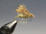 Сухая мушка Elk Hair Caddis Yellow