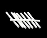 Цилиндры из пенки белые