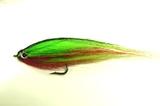 Нахлыстовый Щучий стример Pike fly7 Greenbait