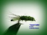 Нимфа отгруженная Cassed Caddis Dk. Green 014