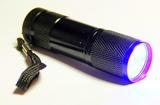 UV фонарик 9 диодов для клея
