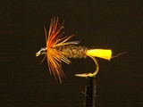 Мокрая мушка Yellow tag