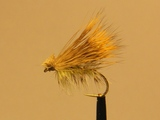 Сухая мушка Elkwing Caddis Yellow