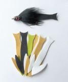 Fish-Skull реалистичные хвосты для стримеров Frantic Tails