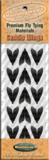 Заготовки для крылышек ручейника HEMINGWAYS