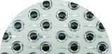 Глазки 3D с креплениями Flyinspector Living Eyes 12мм