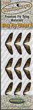 Заготовки для крылышек поденки HEMINGWAYS