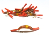 Мушки для нахлыста Nymph Worm