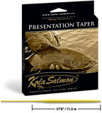 Плавающий шнур PRESENTATION TAPER KOLA SALMON Professional Series