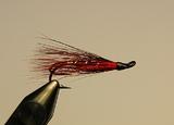 Лососевая мушка Red Black