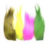Flyinspector мех козлёнок серебрянки микс 3 кусочка Goat Fur