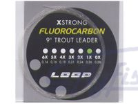 Подлесок Loop Fluorocarbon Leader 9 ft