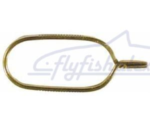 Зажим для пера FLYINSPECTOR BRASS HACKLE PLIERS Small