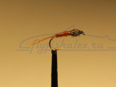 нимфа pheasant tail peacock
